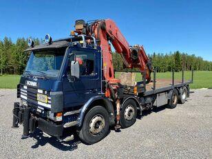 SCANIA P 113 H camión caja abierta