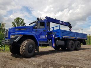 URAL 4320 NEXT с тросовым КМУ DY (DongYang) SS1956 ACE camión caja abierta nuevo
