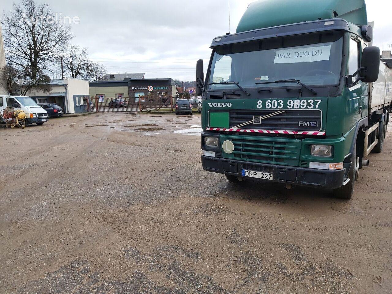 VOLVO Fm12 camión caja abierta