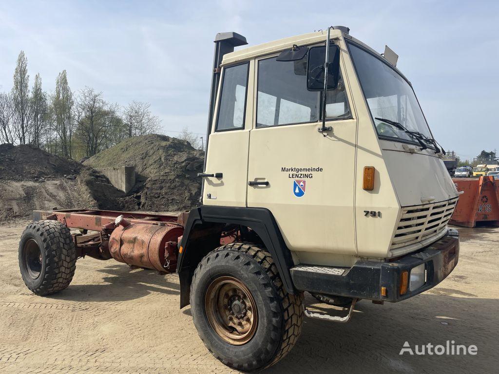 STEYR 791 4x4 **MANUAL PUMP-AUSTRIAN TRUCK** camión chasis