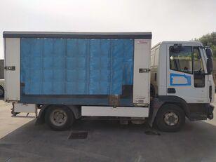 IVECO ML80EL18 BOTELLERO  camión con lona corredera
