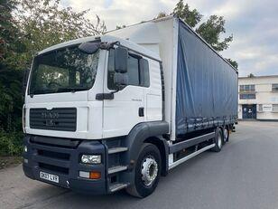 MAN TGA 26.320 camión con lona corredera