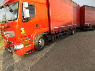 RENAULT PREMIUM 460 DXI EEV camión con lona corredera + remolque con lona corredera