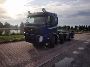 VOLVO FM 400 8X2 KIPPER camión con sistema de cables