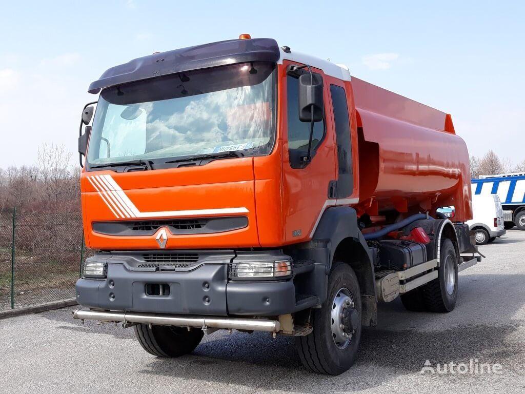 RENAULT 370dci 4X4 camión de combustible