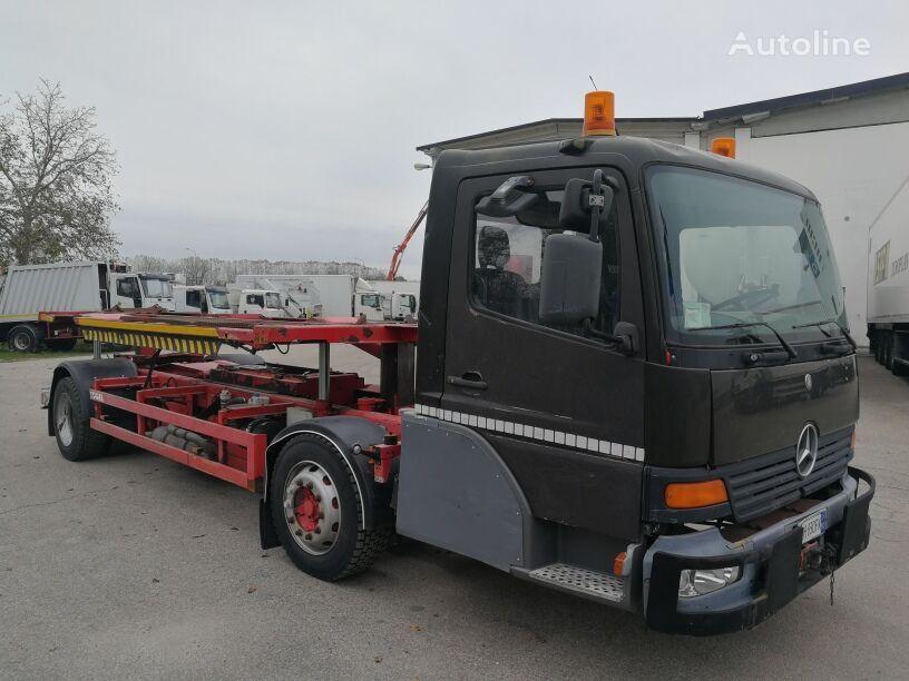 KÖGEL MERCEDES 180 PTT - VEICOLO SPECIALE PER LOGISTICA-PORTI-ETC camión de contenedores