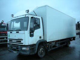 IVECO 120 E23 P camión furgón