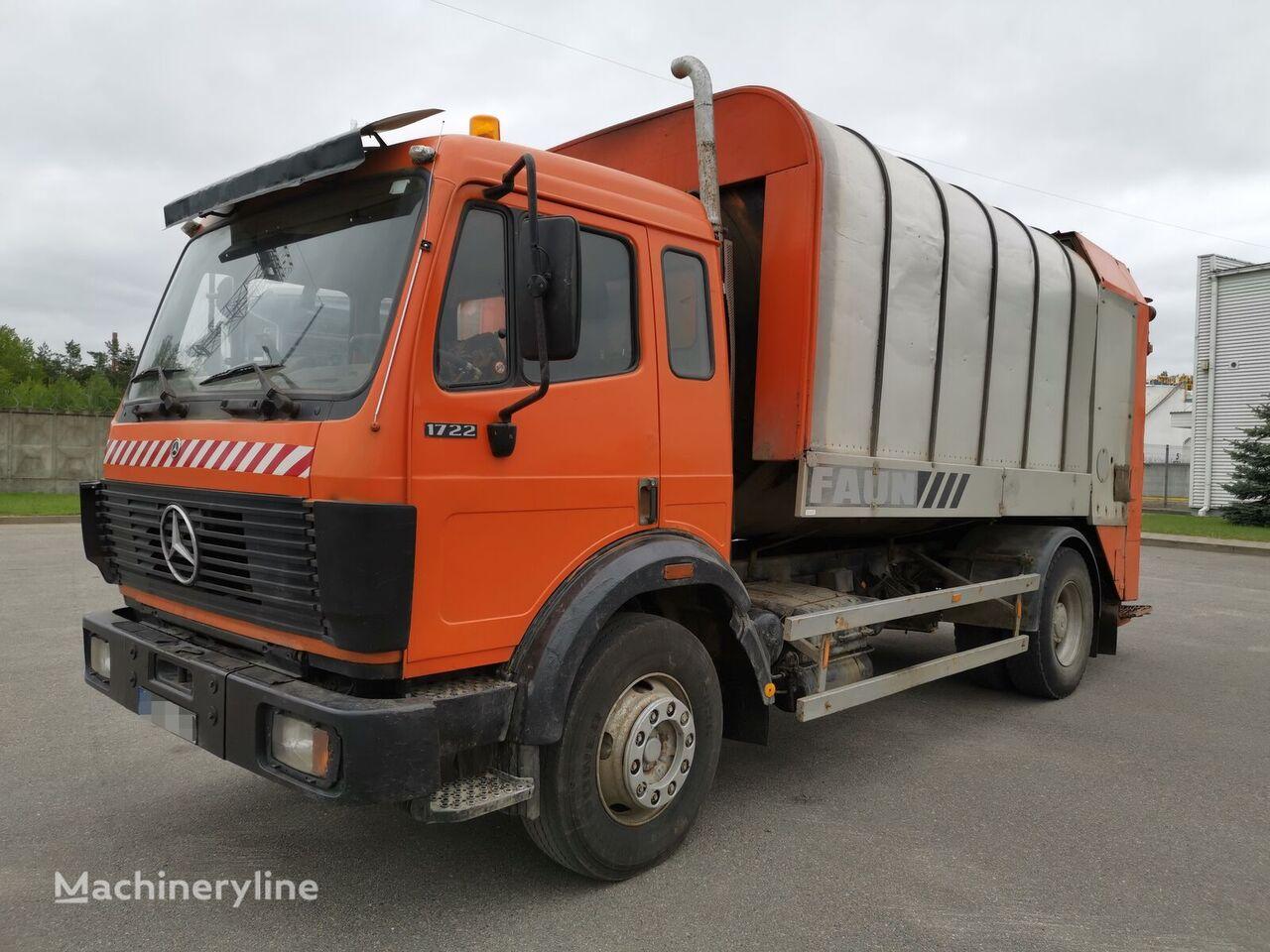 MERCEDES-BENZ 1722 camión furgón