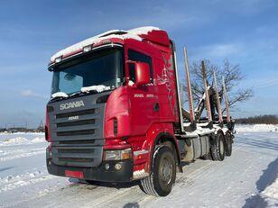 SCANIA R-420 camión maderero