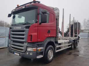 SCANIA R420 camión maderero
