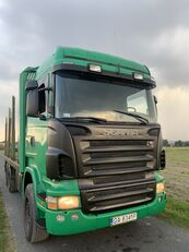 SCANIA R420 6X4 MANUAL 3+3 RETARDER KLIMA , FULL SPRINGS  camión maderero