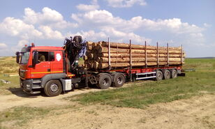 MAN TGS 26.480 6x4 BB camión maderero