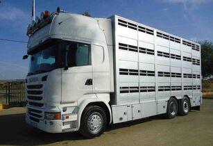 SCANIA R 490 camión para transporte de ganado
