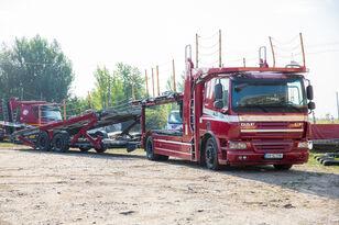 DAF Trailer FA CF75 camión portacoches + remolque portacoches