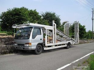 ISUZU Elf camión portacoches
