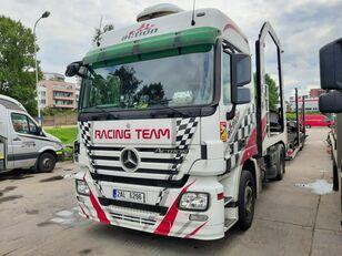 MERCEDES-BENZ Actros + Lohr + návěs na přepravu automobilů camión portacoches