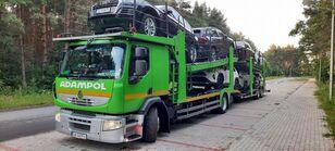RENAULT Premium 410 camión portacoches + remolque portacoches