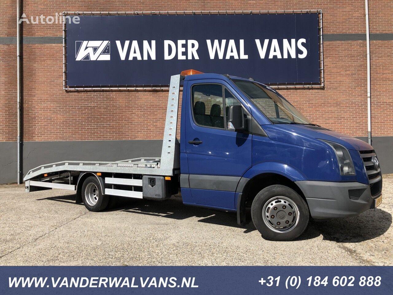 VOLKSWAGEN Crafter 50 2.5TDI 164pk Oprijwagen Airco, lier, trekhaak camión portacoches