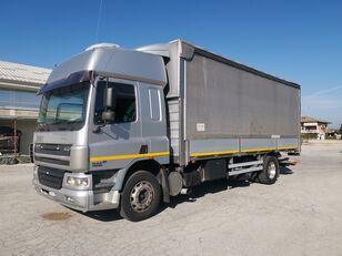 DAF CF 75.310 180 QLI CENTINATO + PEDANA !!! camión toldo