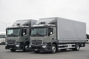 MERCEDES-BENZ ANTOS / 1833 / ACC / E 6 / SKRZYNIA + WINDA / ŁAD. 8730 KG / 18  camión toldo