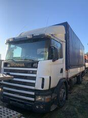 SCANIA 124L 360 Gearbox GRS900 3+3 camión toldo