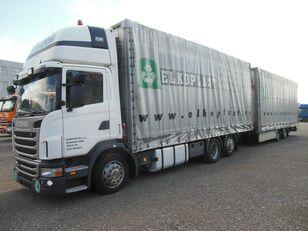 SCANIA G440 camión toldo + remolque toldo