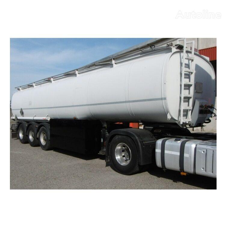ACERBI FUEL/BENZINE/DIEZEL ABS+ADR+METER 5xKAMER=40.745LTR cisterna de combustible