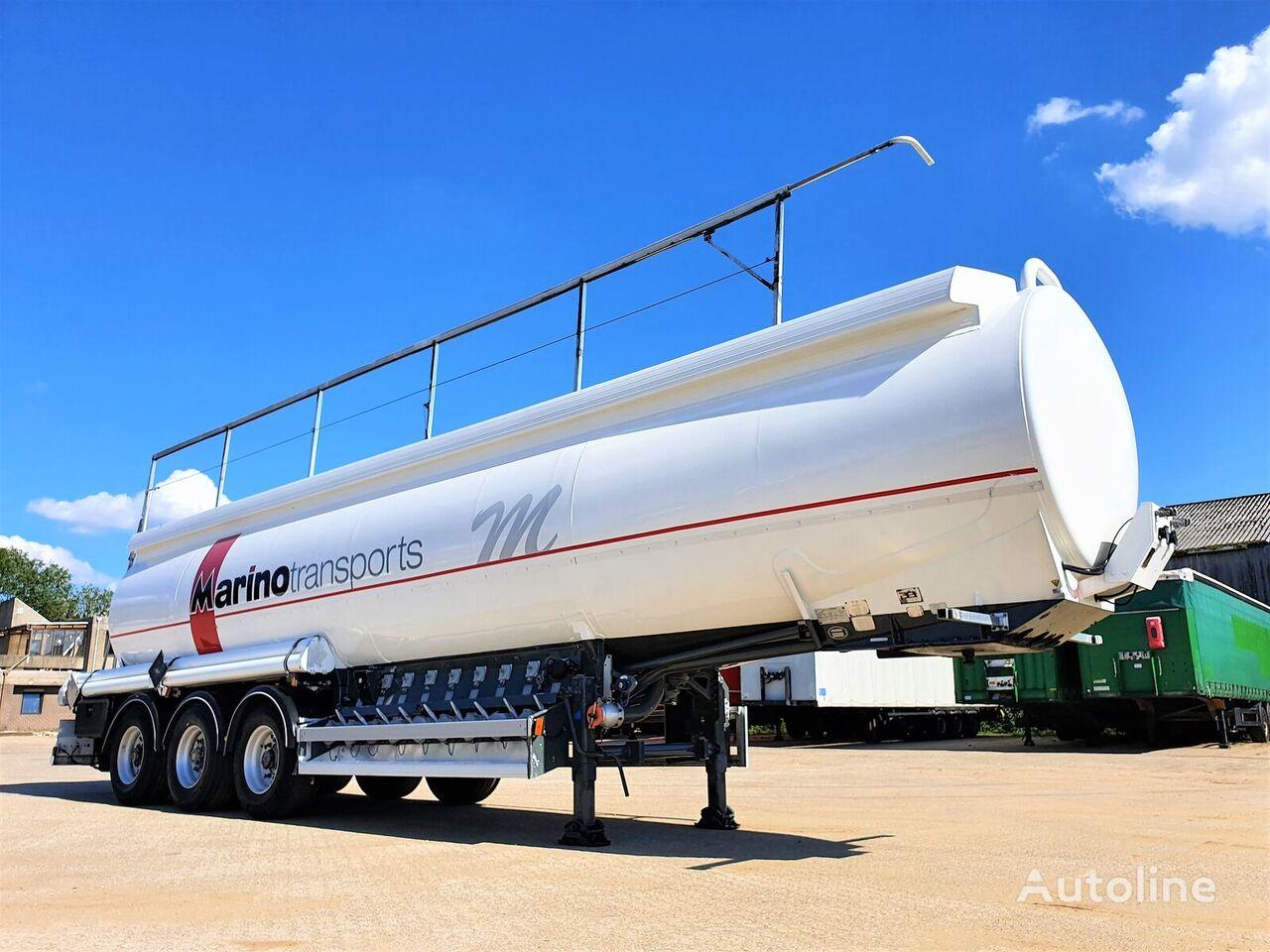 TRAILOR 38000ltr-9 comp ADR class 3 VALID 03-2021 cisterna de combustible