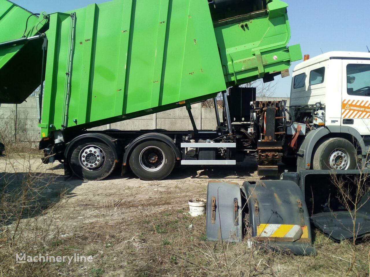 carrocería de camión de basura FAUN SIDEPRESS