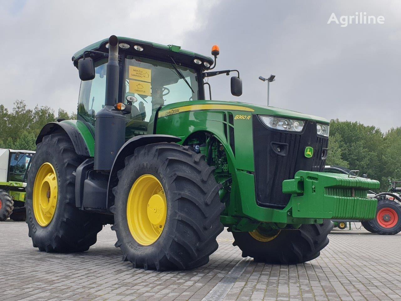 JOHN DEERE 8360R tractor de ruedas