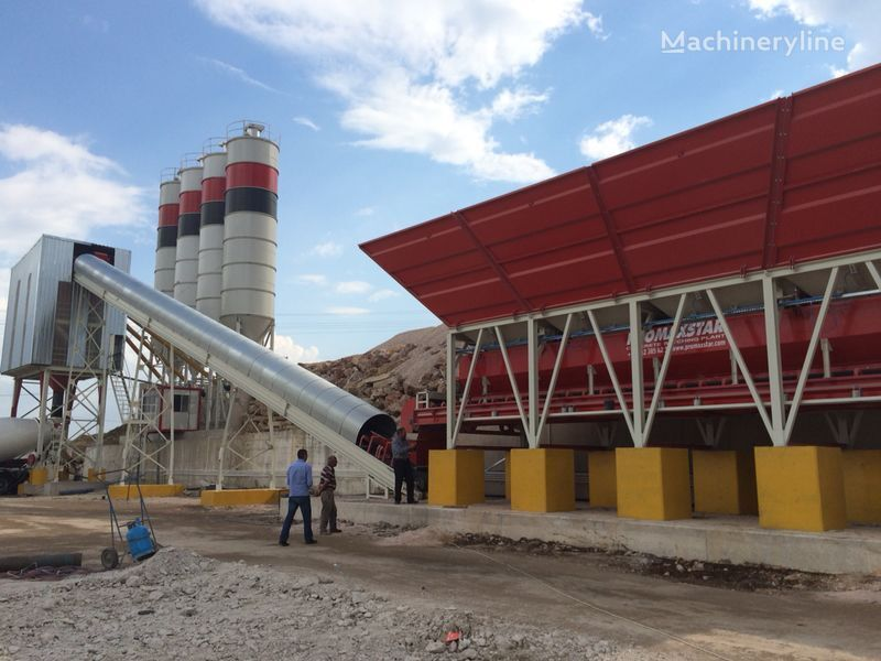 PROMAX STATIONARY Concrete Batching Plant S160-TWN (160m3/h) planta de hormigón nueva