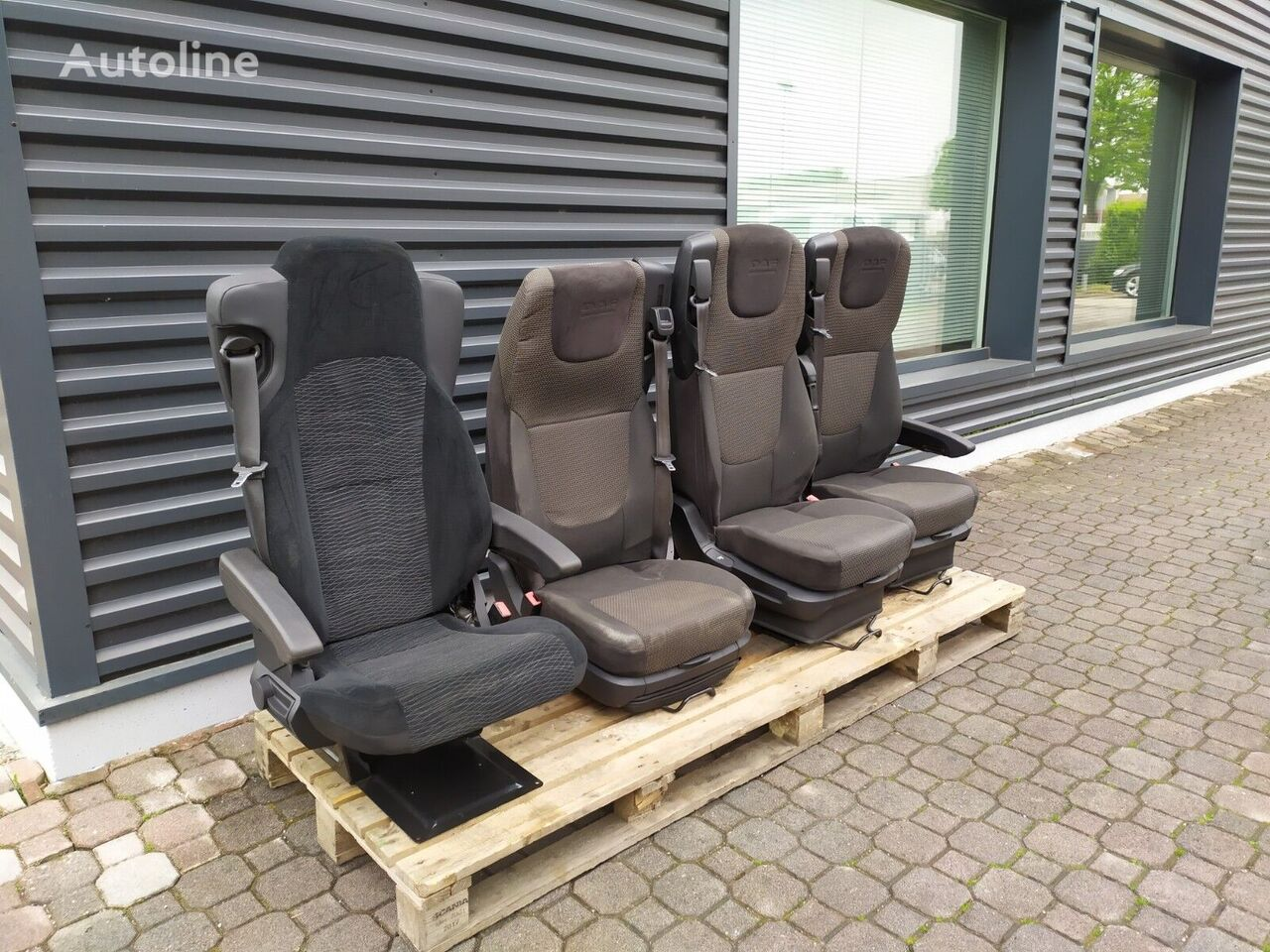asiento para DAF XF106 XF105 CF camión