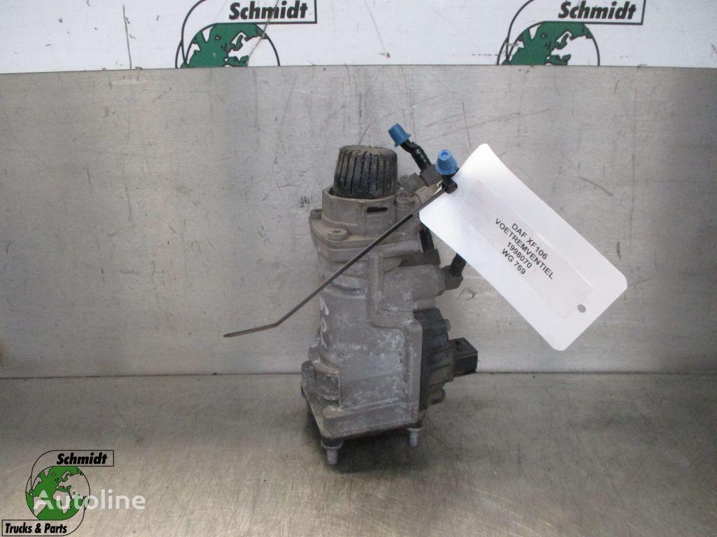 voet rem ventiel (1998070) cilindro principal de freno para DAF XF EURO 6 camión