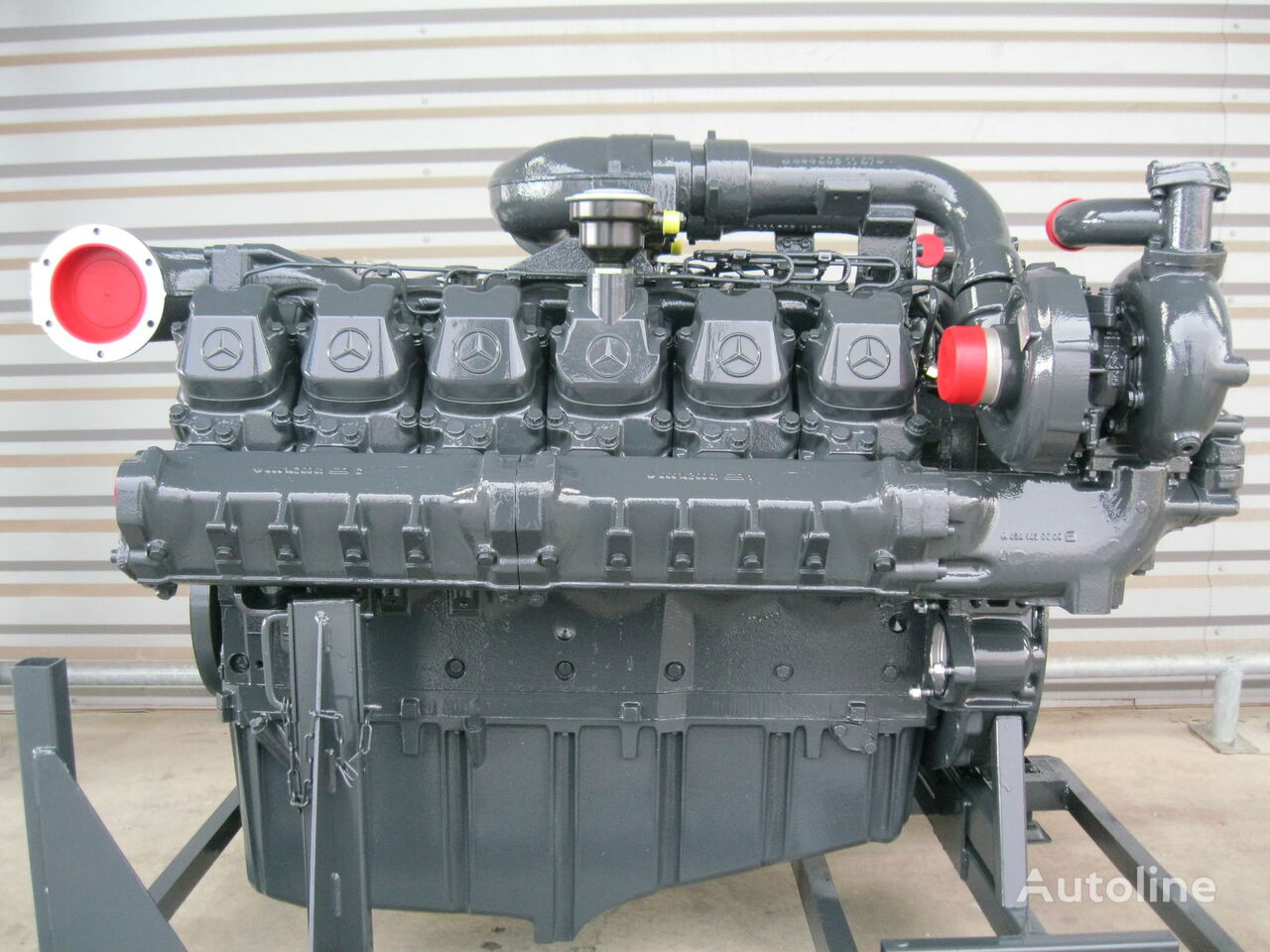 MERCEDES-BENZ OM444LA (LHM400 LHM800) motor para LIEBHERR grúa móvil nuevo