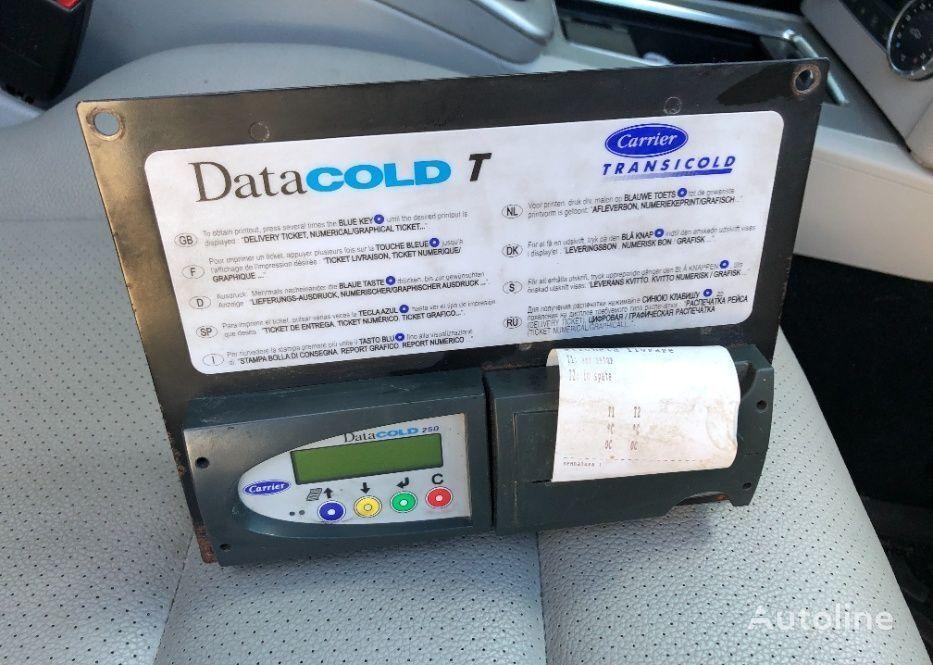 Termodiagrama  DataCOLD T 250 Carrier Transicold recambios para coche