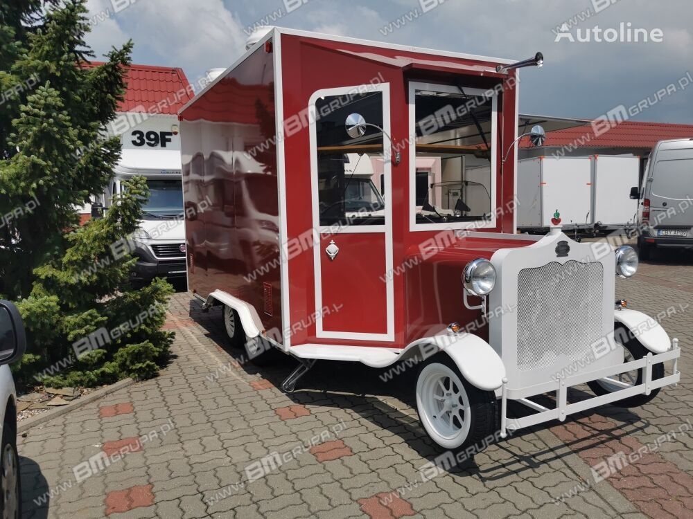 BODEX przyczepa handlowa, mobilna gastronomia, Verkaufsanhänger, Cater remolque de venta nuevo
