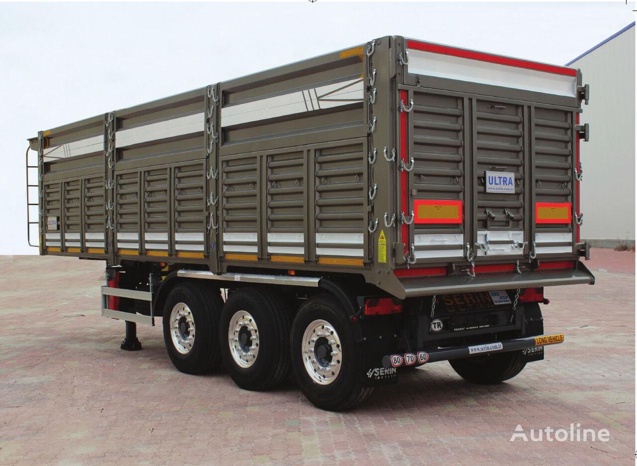 SERIN Universalnyy samosval semirremolque para transporte de grano nuevo