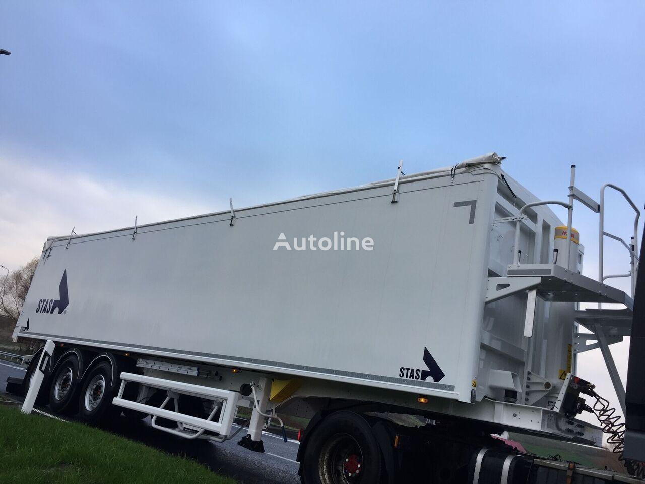 STAS AgroSTAR semirremolque para transporte de grano nuevo