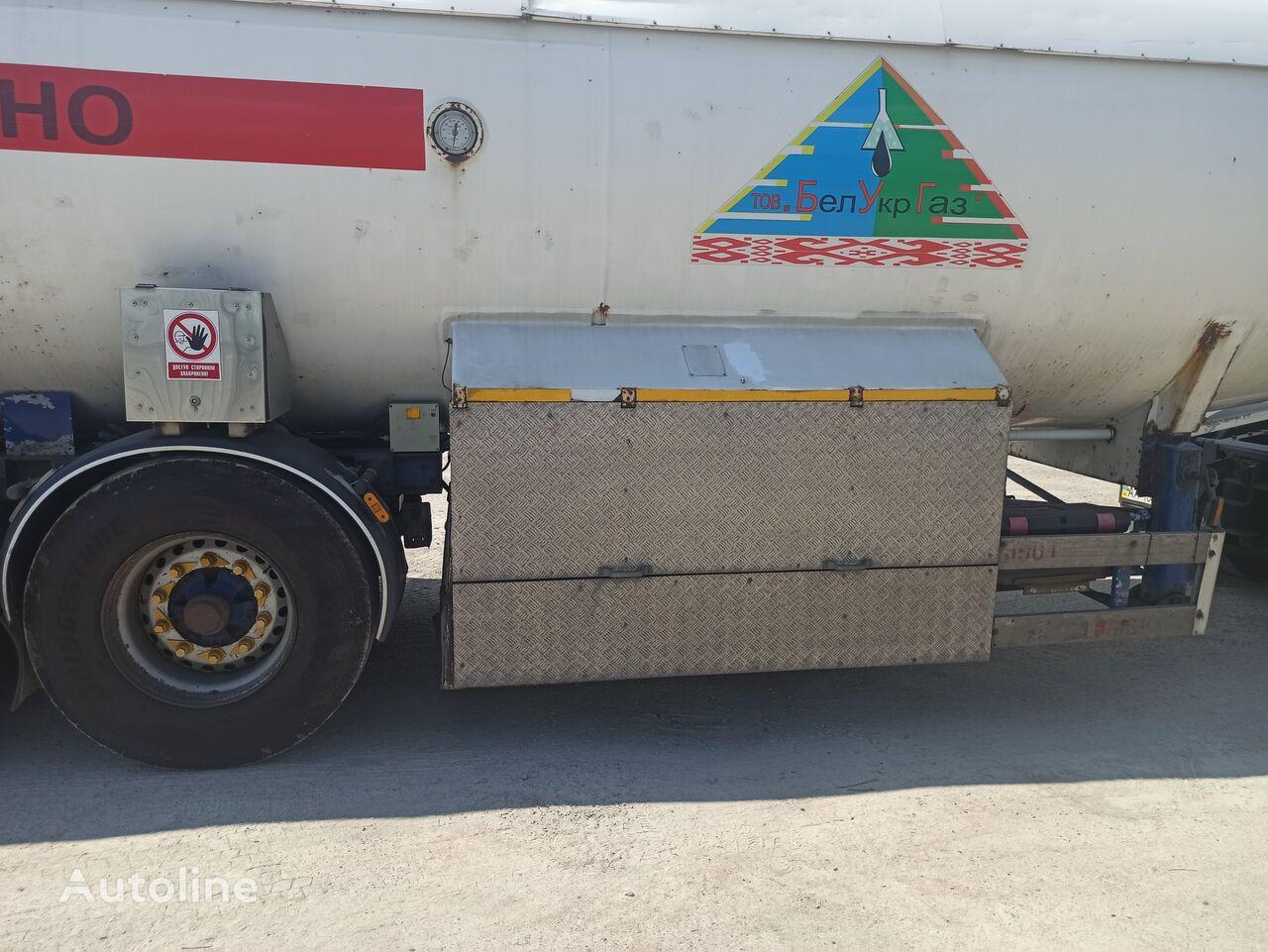 MAN TGS 19.440 tractora + cisterna de gas