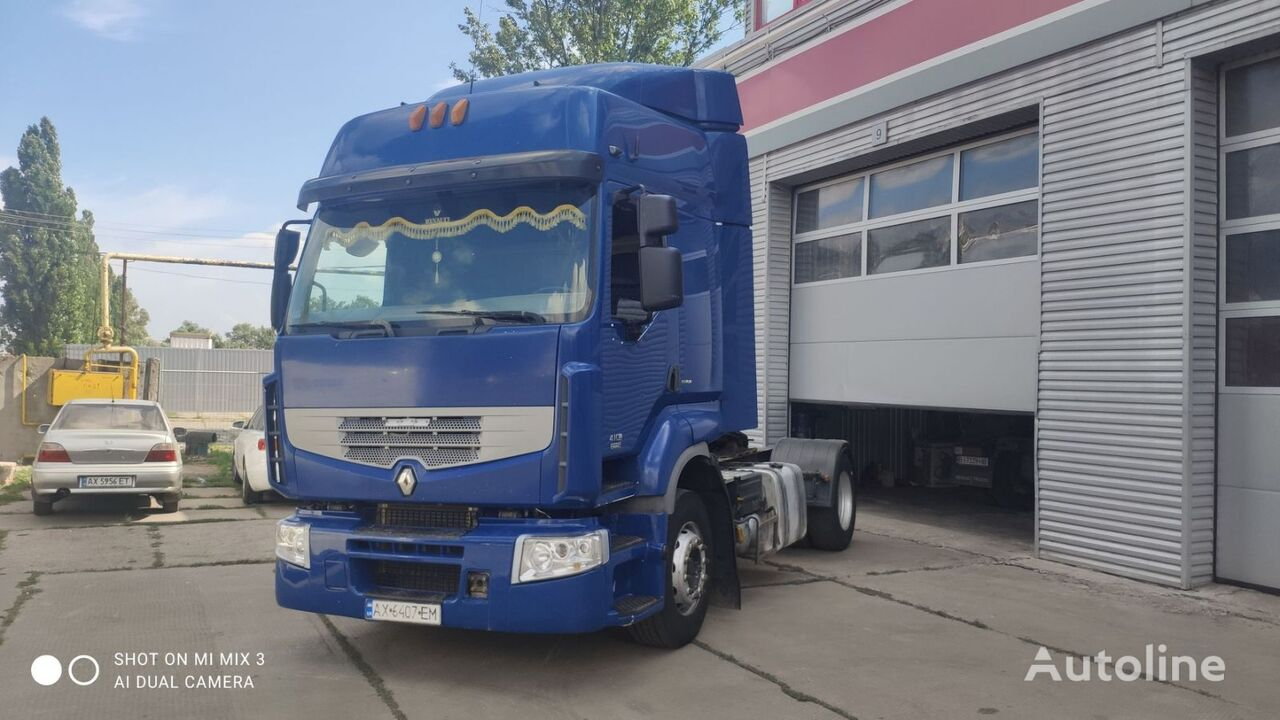 RENAULT Premium 410 tractora